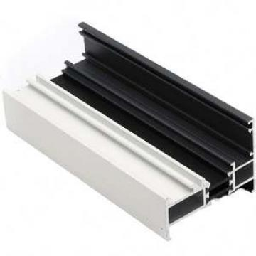 Type of aluminium profile for windows , angle slot aluminum window profile