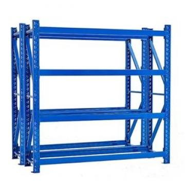6 shelf heavy duty warehouse rack industrial storage shelving with wire decking