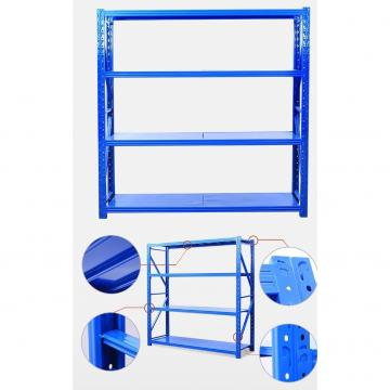 Q235B Steel Customized Adjustable Selective Pallet Storage Warehouse Racks