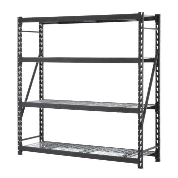 Warehouse Metal Racks Storage Industrial 4 Medium Duty Shelf Unit