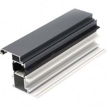 Customized alloy 6000 series extruded l shaped black aluminum angle